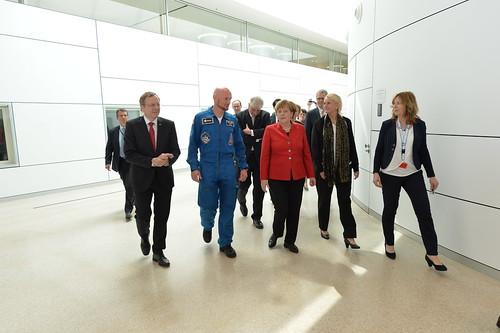 Angela Merkel im :envihab in Köln