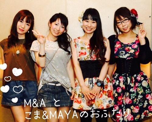 20160504M&Aとこま&MAYA