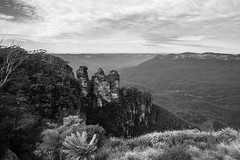 Three Sisters from Echo Point