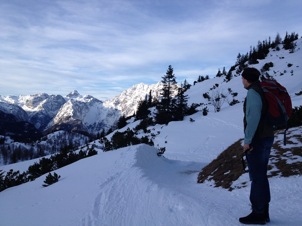 Hiking with my brother in Berchtesgaden (Jenner)