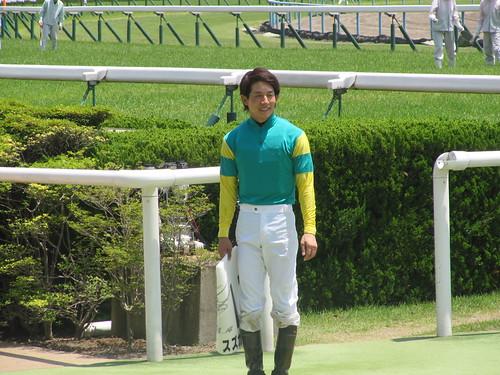 京都競馬場での幸英明騎手