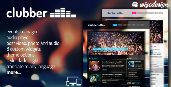 Clubber v2.6.1 - Events & Music WordPress Theme