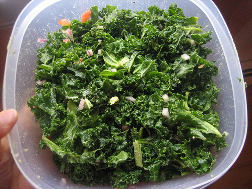 IMG_4098  Whole Foods Copycat Massaged Kale Salad