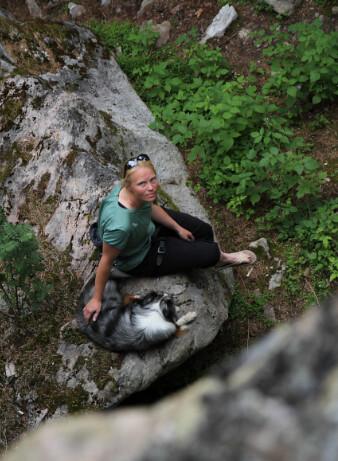 Paus klättring Oppdal Norge