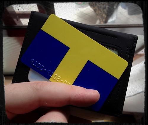 Finally got my own T-card :D