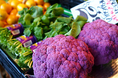 Purple Cauliflowers