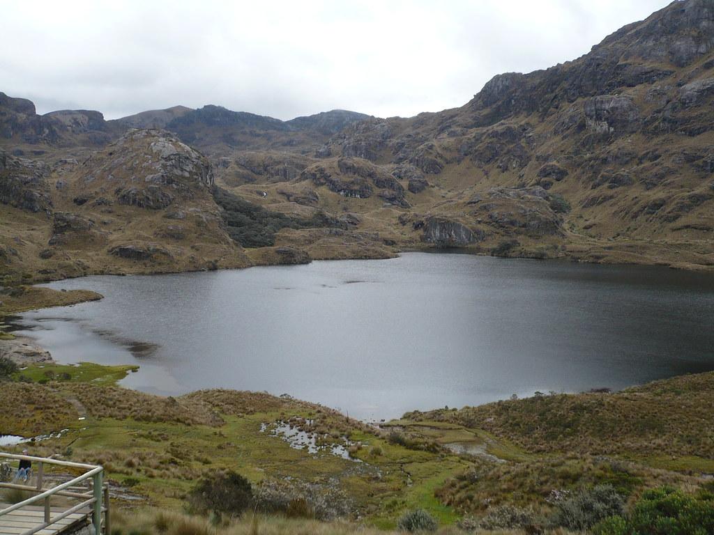 Lago del Parque Nacional Cajas