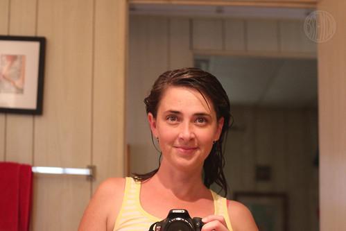 freshly showered and dressed for lemon week!