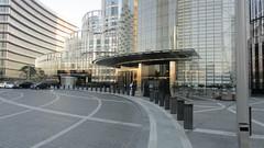Entrance to the Armani Hotel at the Burj Khalifa