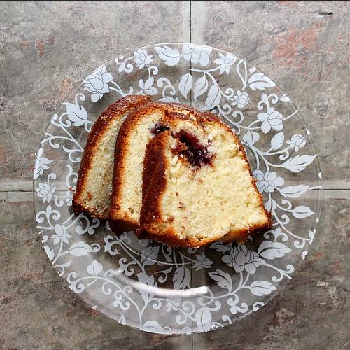Ruby Cake Slice