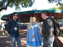 Meeting Alice in Wonderland