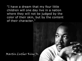The Dream of Martin Luther King, Jr.