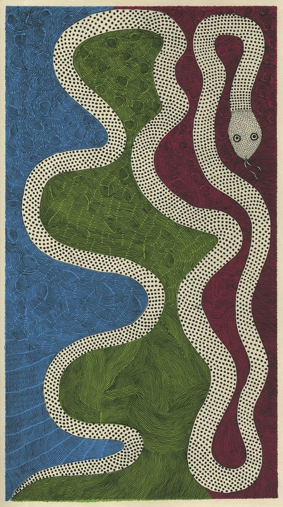 Waterlife snake (Tara books)