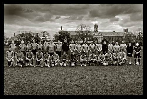Household Cavalry, Officers vs NCo's football, 2012