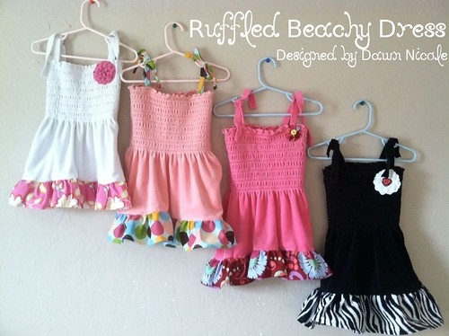 Ruffled Beachy Dress