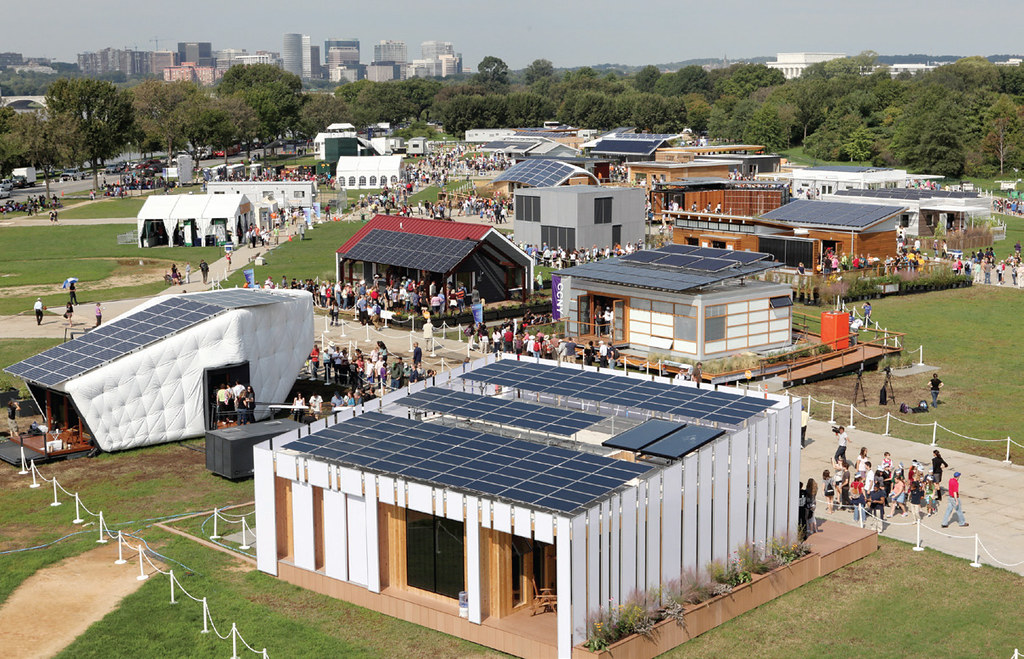 Solar Decathlon Visitors Tour