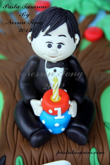 1st birthday cake-ARAS