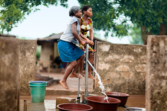 Water source for the community