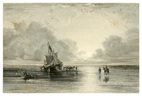 015-Solway Sands-Finden's landscape illustrations of the Waverley novels.. 1834-varios artistas