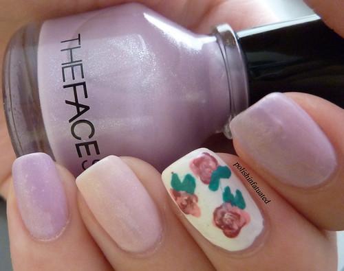 rose nail art2