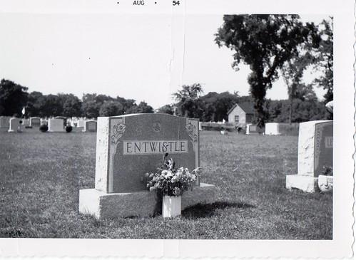 Entwistle Gravestone by midgefrazel