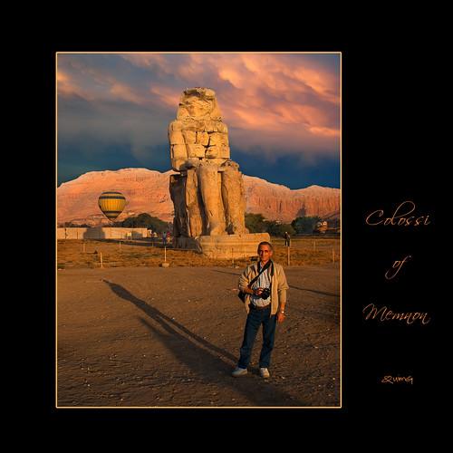 sunset people art geotagged atardecer golden gente egypt egipto gent egipte colossiofmemnon capvespre quimg quimgranell joaquimgranell alwādīaljadīd