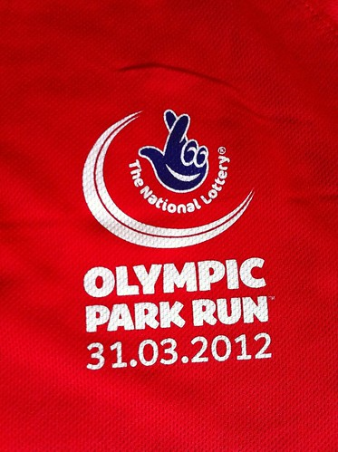 Olympic Park Run t-shirt