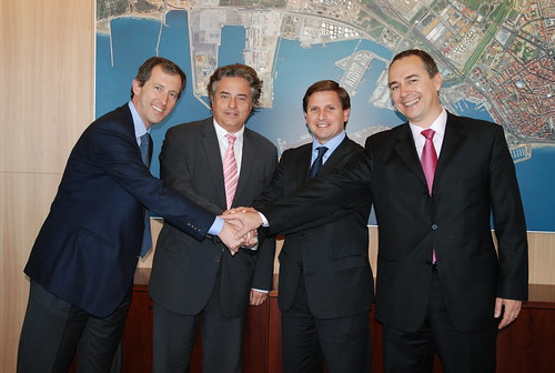 Port de Tarragona signs an agreement with COMSA Rail Transport