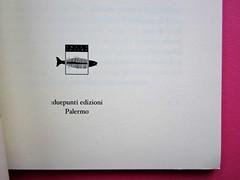 L'ultima seduzione di Francesco Orlando ( a cura di Salvatore Nicosia), :due punti edizioni 2012. Progetto grafico e impaginazione: .:terzopunto.it. frontespizio (part.), 2
