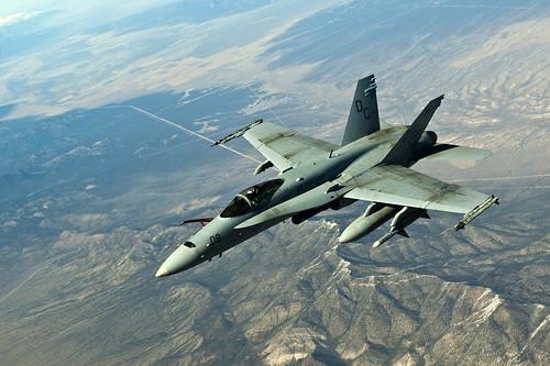 無料写真素材, 戦争, 軍用機, 戦闘機, FA ホーネット, アメリカ軍