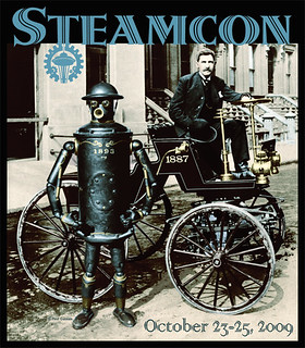 Steamcon 2009 shirt by Paul Guinan