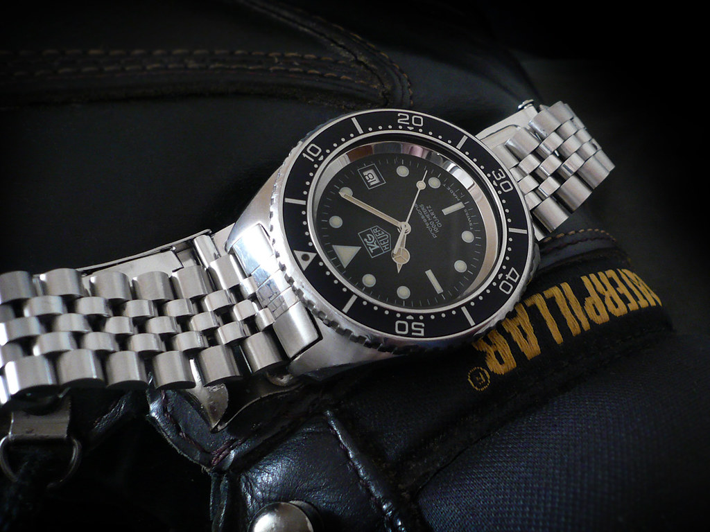Fs vintage tag heuer 1000m deep dive c86 91 for Tag heuer divers watch