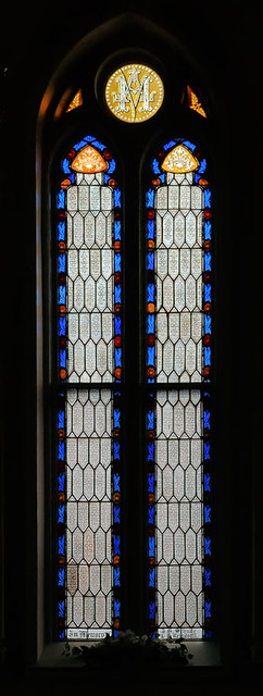 Saint Peter Roman Catholic Church, in Jefferson City, Missouri, USA - stained glass window