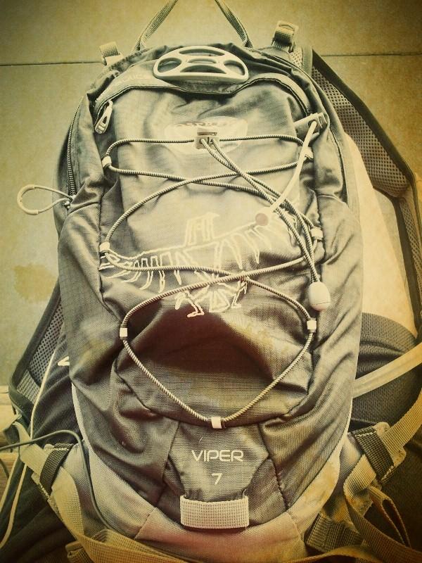 my new running bag