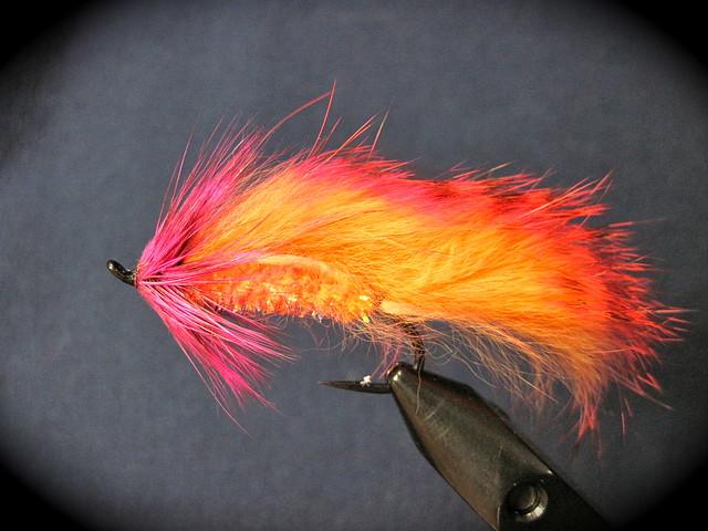 Shrimp Pink Steelhead Matuka fly