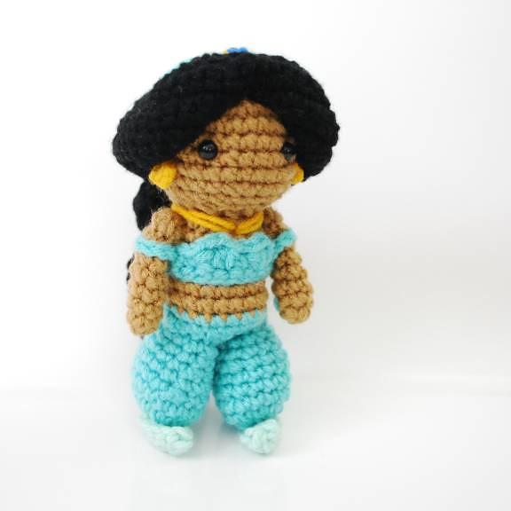 Amigurumi Join : Jasmine - Crochet Amigurumi Plush Doll Beautiful ...
