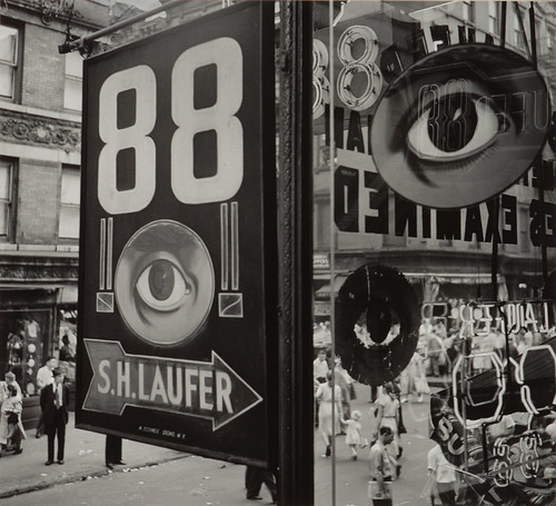 Bill Witt, <i>The Eye, Lower East Side,</i> 1948