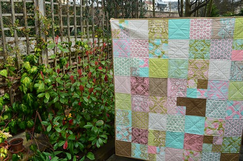 The lazy stash quilt