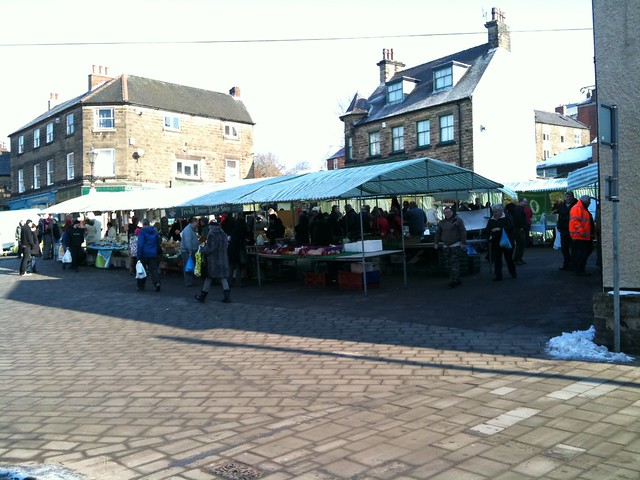 Belper farmers market 2012