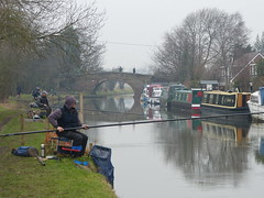 Sunday morning anglers