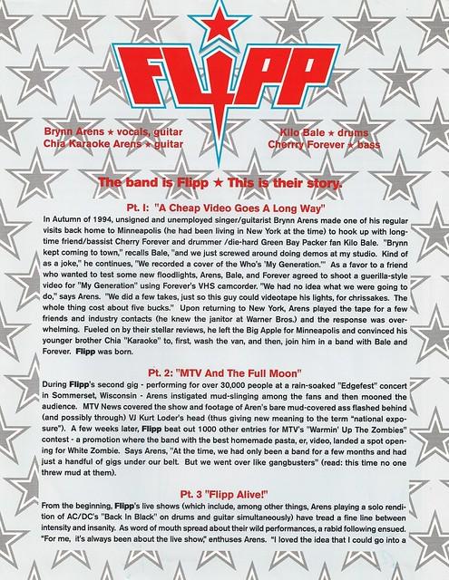 Flipp Promo Sheet A #1
