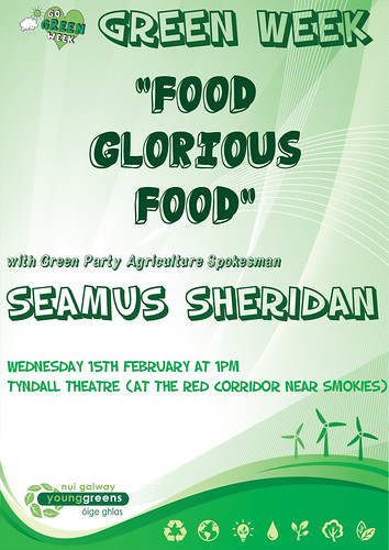 Green Week Seamus Sheridan Talk
