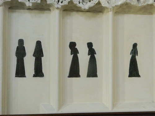 Displaced brasses - assorted wives