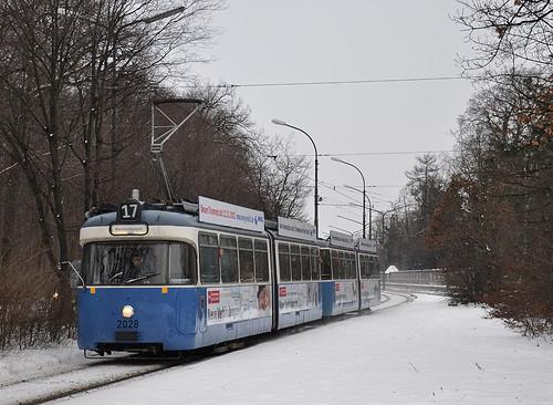 Ankunft an der Amalienburgstraße