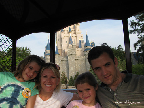 Trolley Ride at Cinderella's Castle