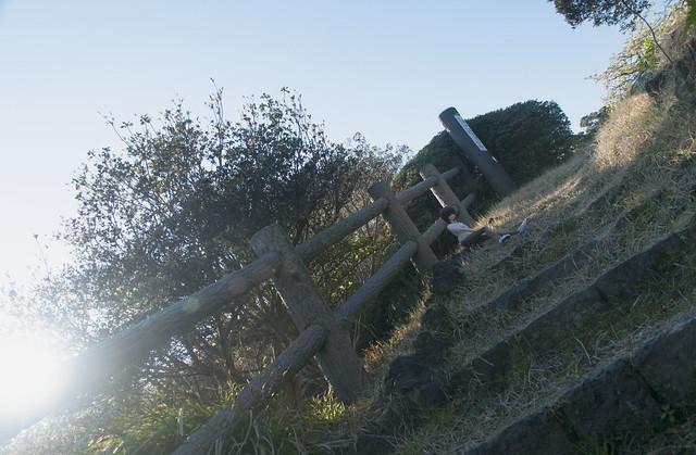 大島公園にて