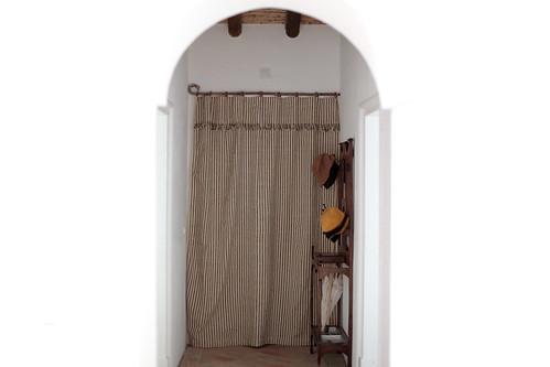 Uma cortina contra o frio