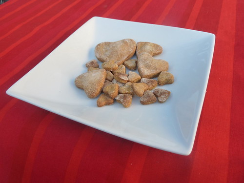 Valentine's Dog Cookies