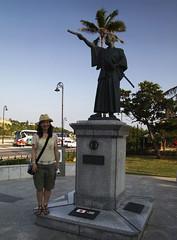 支倉常長の像