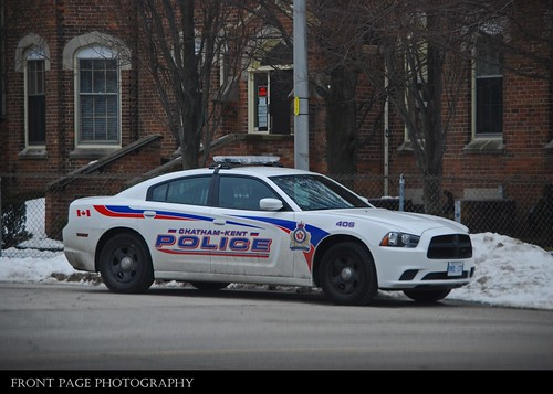 ontario canada car kent police chatham dodge service ck department 406 charger services dept unit chathamkent